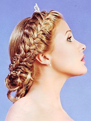 Как плести косы на голове схема плетения и видеот на средние волосы.